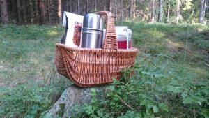 You can order a breakfast basket to make the morning even more relaxing.